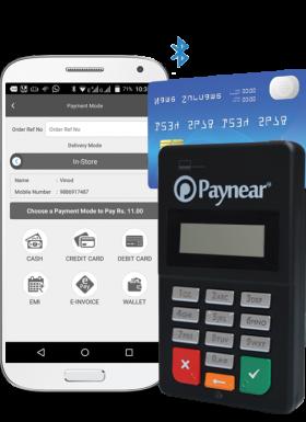 Paynear Card Swiping Machine